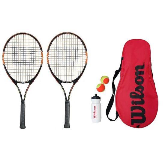 Wilson burn rose junior raquette de tennis