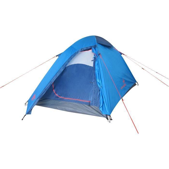 TENTE DE CAMPING WANABEE Tente Gobi 2-Z - Bleu - 2 places