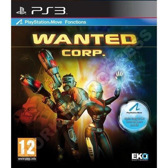 Wanted Corp Jeu PS3