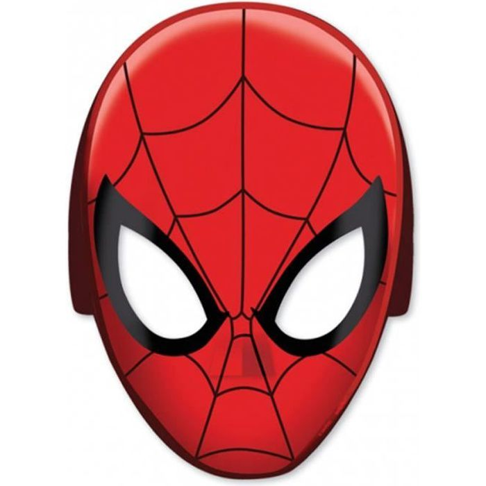 Masques Spiderman Ultimate x8