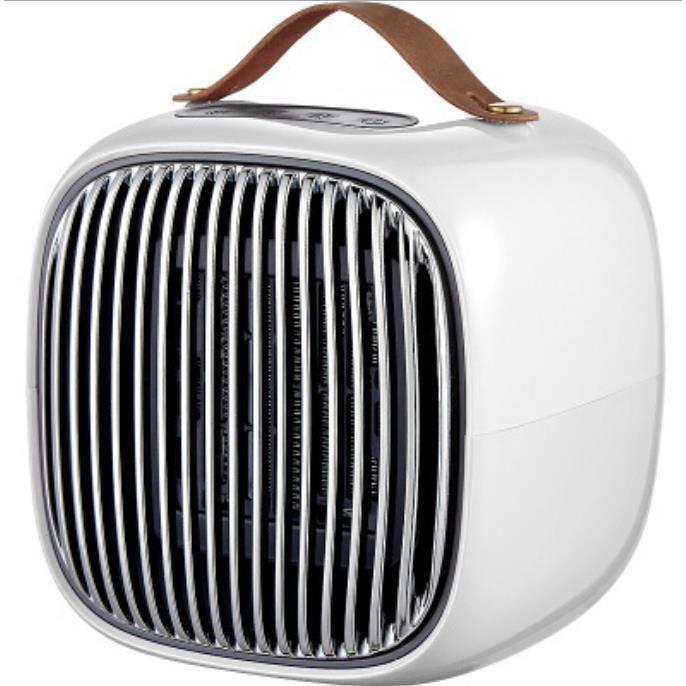 Radiateur Soufflant Céramique 800W Chauffage Soufflant & Ventilateur Instant Comfort, Chauffage d'Appoint