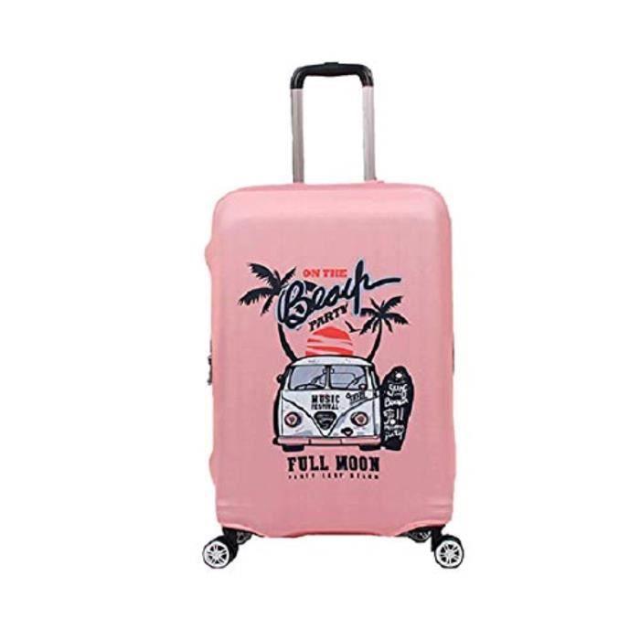 Sac De Voyage CQ2IP Housse de protection anti-pluie élastique bagages Valise Protecteur Carry-le et Vérifié-Taille (Large,