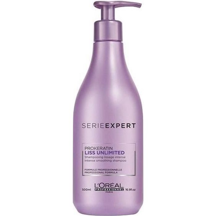 Shampooing Liss Unlimited L'Oréal Professionnel 500ML