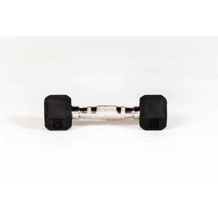 Haltère de musculation Lynx Sport - 5kg - noir - TU