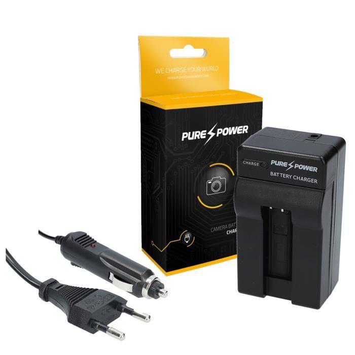 PURE⚡POWER® Appareil photographique chargeur de batterie pour Canon Ixy Digital 50s