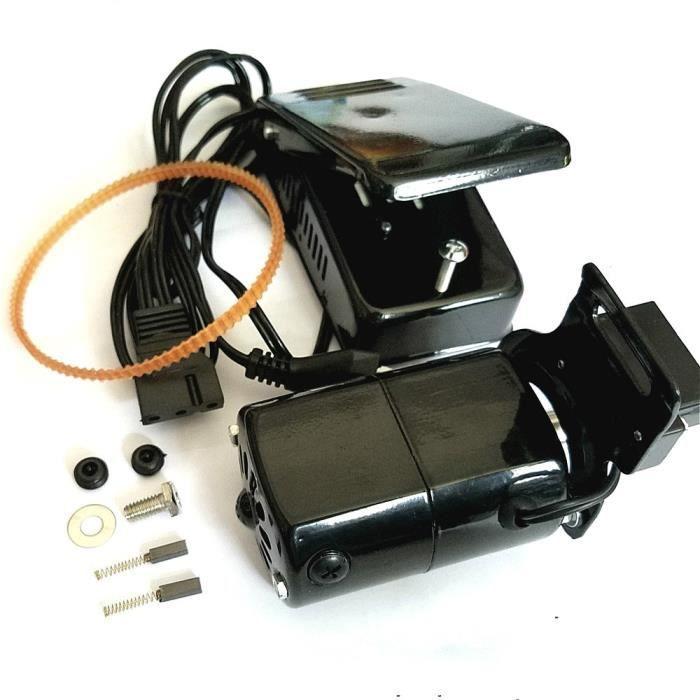 MACHINE A COUDRE,Moteur de Machine à coudre domestique 220V 250W,Moteur 12500rmp 1.0 ampères avec pédale de commande de - 1Set