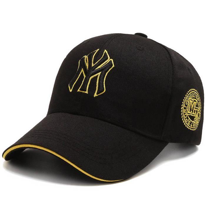 Casquette de baseball universelle de broderie, style hip-hop de chapeau de soleil de pêche