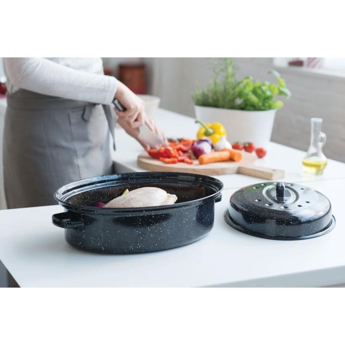 BEKA Cocotte Roasty Cook - Ø 42 cm - Noir