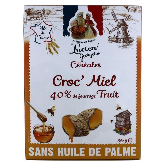 LUCIEN GEORGELIN Céréales Croc' Miel - 375 g