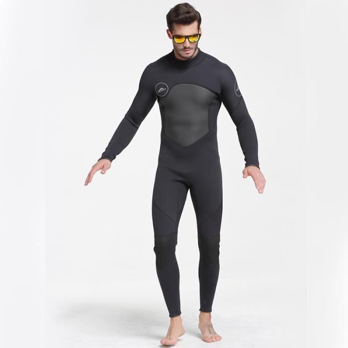 Combinaison néoprène 3mm hommes maillot de bain triathlon