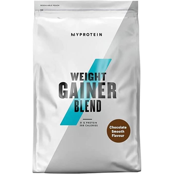 MYPROTEIN Weight Gainer Blend 5 kg Chocolate smooth pour augmenter votre force et votre masse musculaire