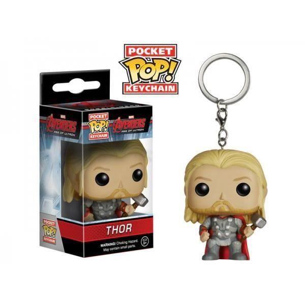 Porte Clé Marvel Avengers - Thor Pop 4cm-Porte Clé Marvel Avengers