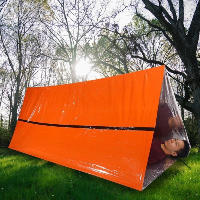10x Pliantes Outdoor Imperméable Thermique Couverture De Survie d/'Urgence