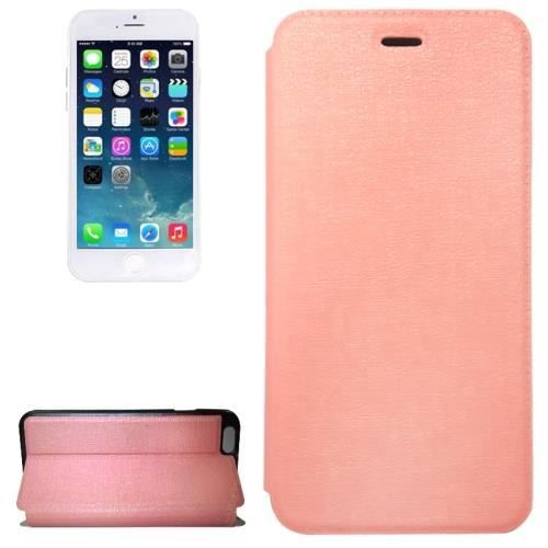Iphone 6 4 7 coque housse cuir pu rose achat for Iphone housse cuir