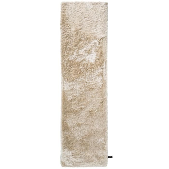benuta tapis poils longs whisper beige 80x300 cm achat vente tapis cdiscount. Black Bedroom Furniture Sets. Home Design Ideas