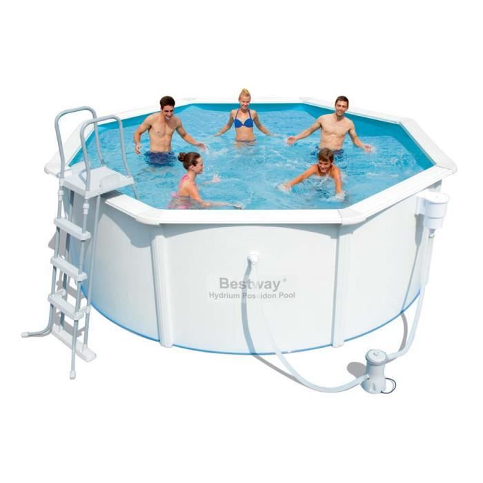 Piscine acier ronde x m achat vente kit for Piscine intex 3 66 x 1 22