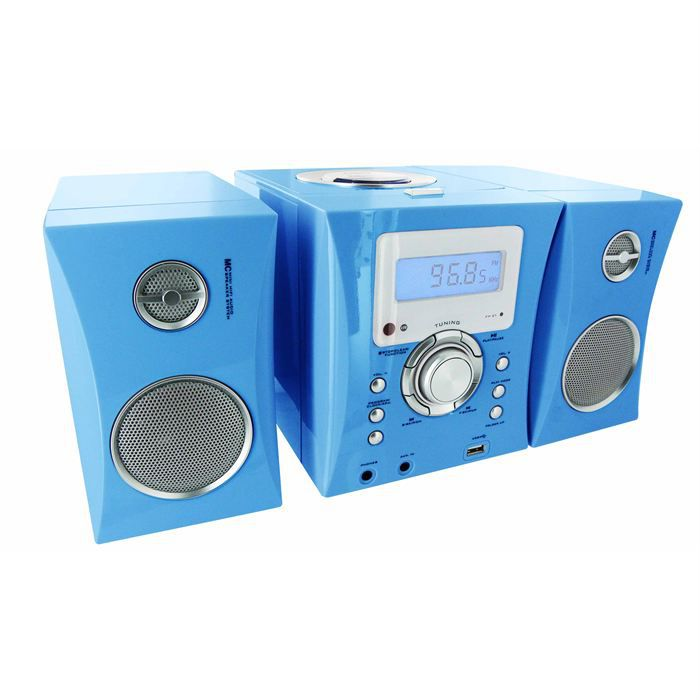 micro chaine radio cd bleu stickers chaine hi fi avis. Black Bedroom Furniture Sets. Home Design Ideas