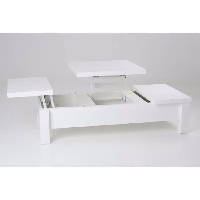 Table basse relevable 3 plateaux - Table basse relevable cdiscount ...