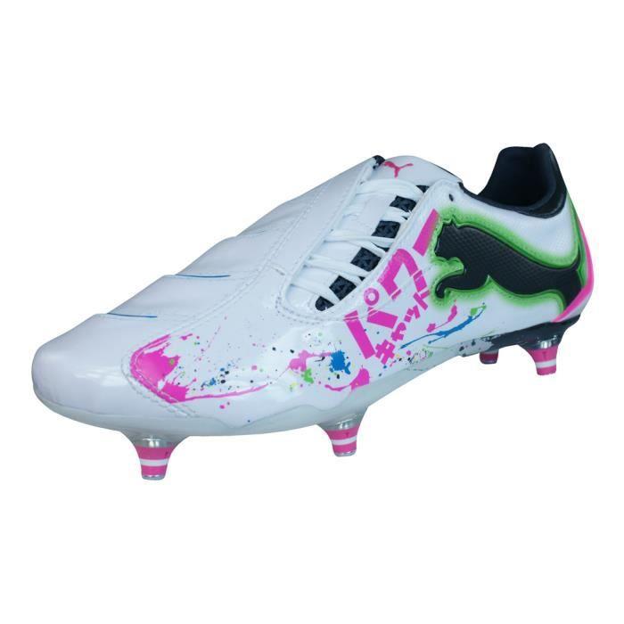 Puma PowerCat.10 Tokyo SG Homme Chaussures de football Blanc