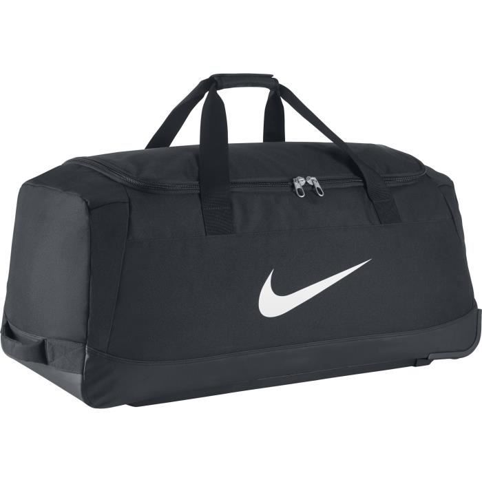 sac nike club team swoosh roller bag 3 0 noir noire achat vente sac de voyage 2009890942429. Black Bedroom Furniture Sets. Home Design Ideas