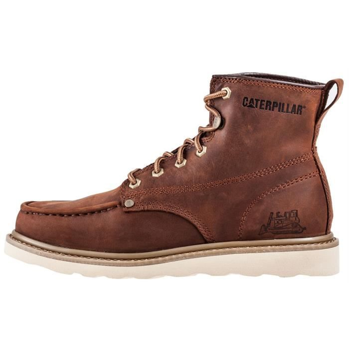 Caterpillar Glenrock Mid Dogwood Hommes Bottes marron - 10 UK