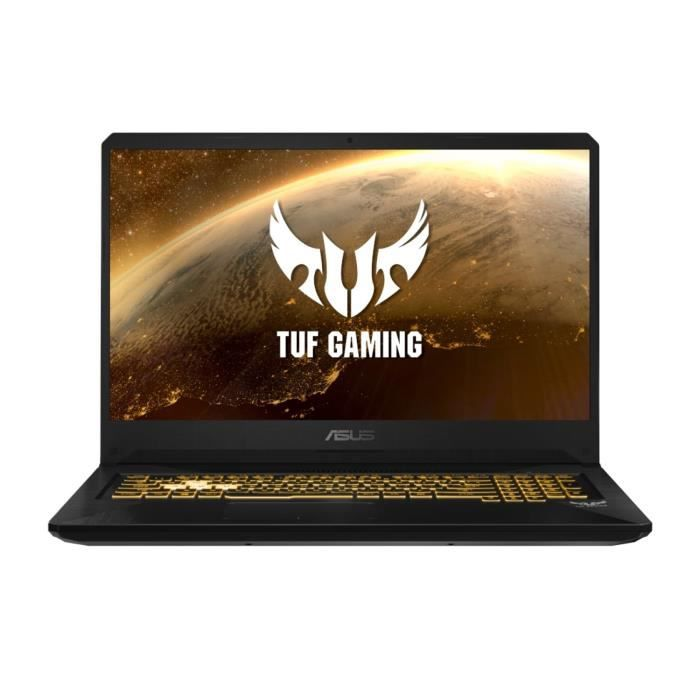 PC Portable Gamer - ASUS TUF705DT-AU042T- 17,3-FHD - Ryzen 5-3550H- RAM 8Go - Stockage 512Go SSD - GTX1650 4Go + Windows 10