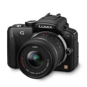 APPAREIL PHOTO RÉFLEX PANASONIC G3 14-42mm noir
