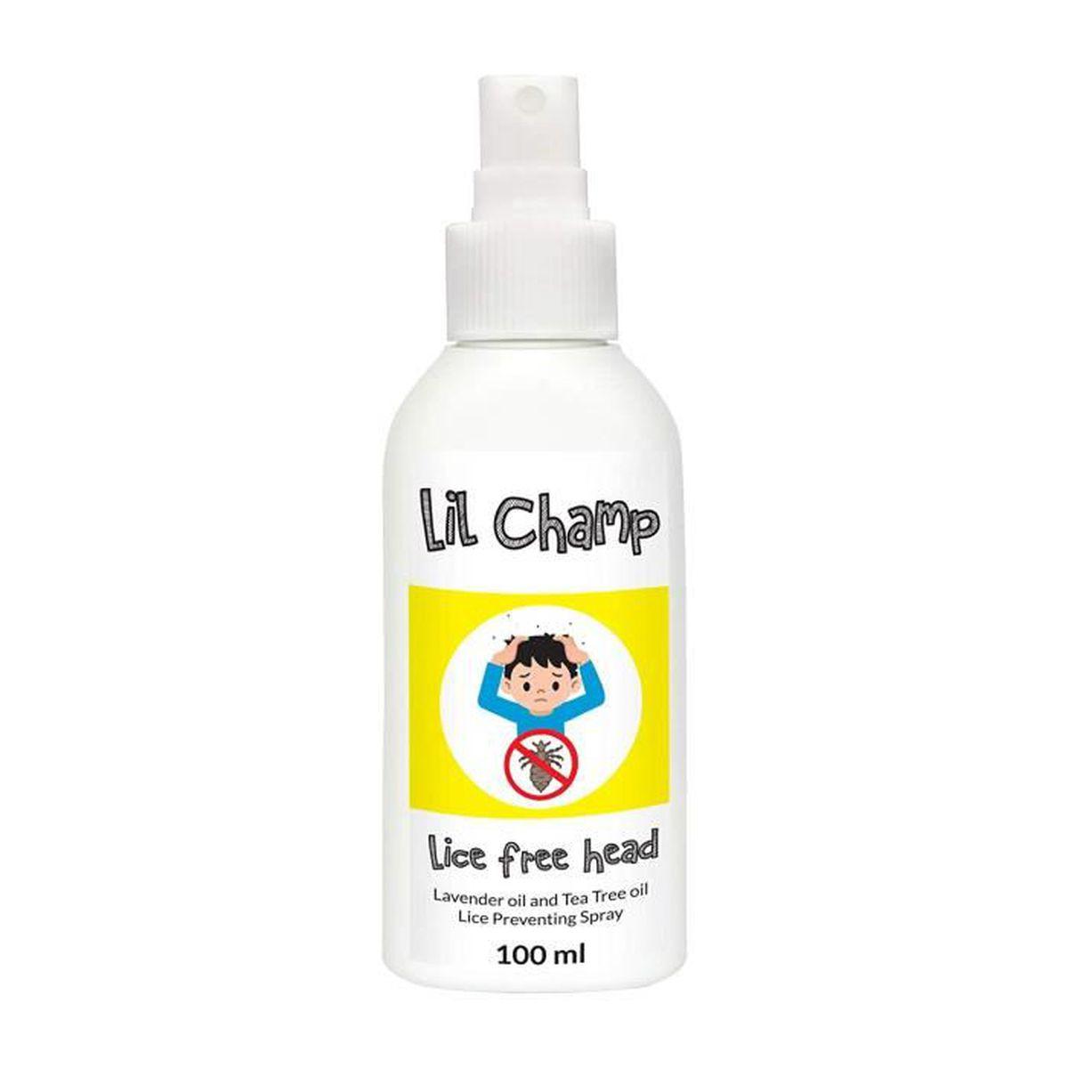 ANTI-POUX Lotion Anti Poux Bébés par Kids Lice - 100ml Aloe