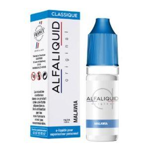 LIQUIDE Eliquide Alfaliquid Saveur Tabac Malawia 10ml 3mg