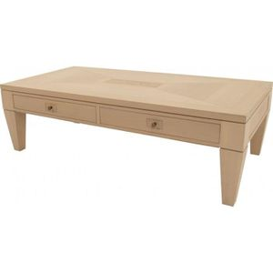 Table basse chene tiroirs achat vente table basse - Table basse avec tiroir pas cher ...