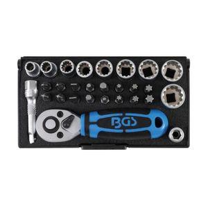 95Pcs Mécanicien De Réparation De Véhicule Kit d/'outils pince tournevis à cliquet Bit Set