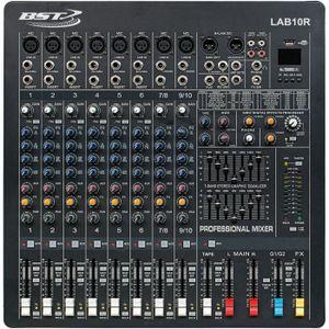 TABLE DE MIXAGE BST LAB10R Console professionnelle - 10 canaux rac