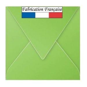 Lot de 100 enveloppes carr/ées Bleu fonc/é 14 x 14 cm 100 g//m/² 140 x 140 mm