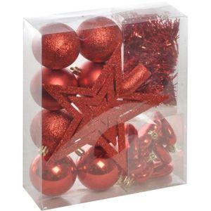 belle décoration Lot de cinq pièces CH 9 Figure de Noël boules