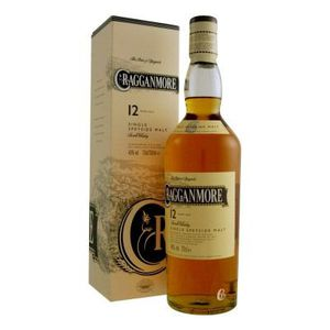 WHISKY BOURBON SCOTCH Bouteille de whisky Cragganmore 12 ans 40°