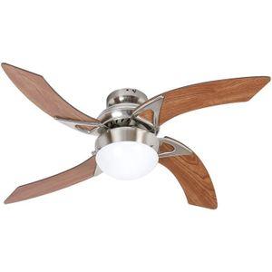 VENTILATEUR Ventilateur de plafond - MOOREA -  107cm - 4 pales