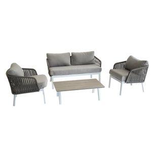 Salon de jardin aluminium Hesperide - Achat / Vente Salon de ...