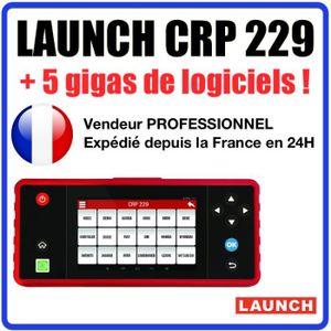 OUTIL DE DIAGNOSTIC Launch CRP 229 - Valise Diagnostic MULTIMARQUES -