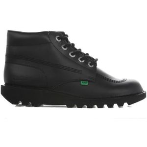 BOTTE Kickers Kick Hi Core Homme Noir Cuir Ankle Botte