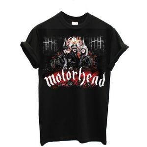 T-SHIRT T-shirt Homme Motorhead- T-shirt rock band 100% co