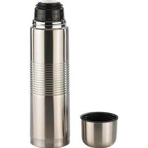 BOUTEILLE ISOTHERME Bouteille isotherme en inox + gobelet - Grande 1 L