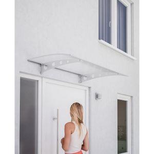 MARQUISE - AUVENT Auvent marquise de porte, Lyra 3, 120 x 80 cm, pol