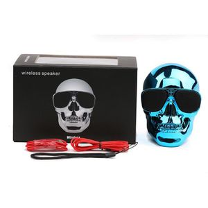 ENCEINTE NOMADE Portable Skull Wireless Bluetooth Super Bass Stere