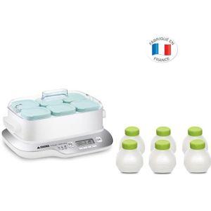 YAOURTIÈRE - FROMAGÈRE Tefal Yaourtière Multi Délices YG657 6 Pots + 6 Bo