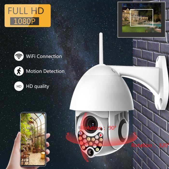 Caméra de sécurité sans fil Wifi dôme extérieur caméra IP IP
