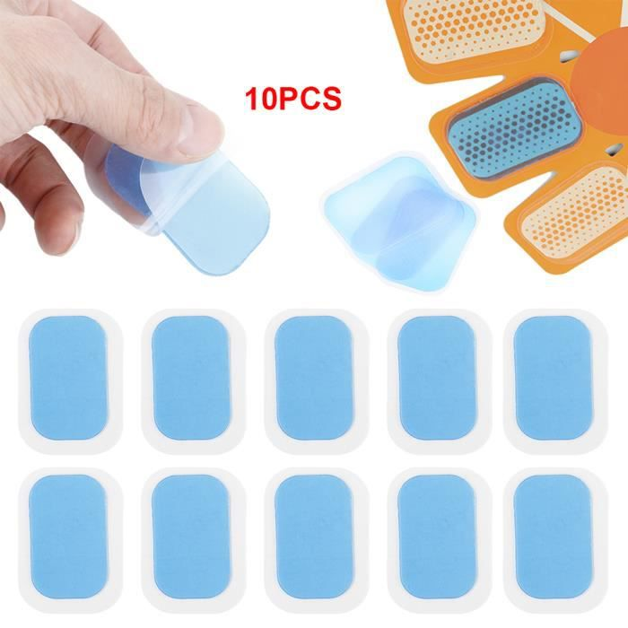 10 PCS Patch Gel Pad Formation Musculation Fitness Abdominale Corps