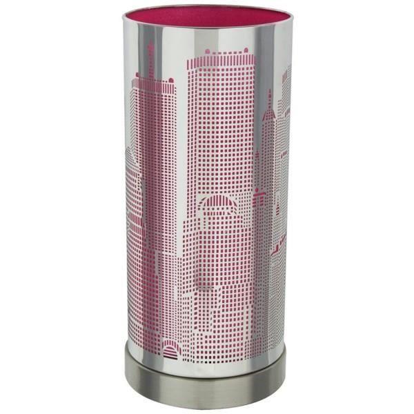 Lampes a poser Lampe Touch New-York avec variateur tactile de lumiere - Modele Rose