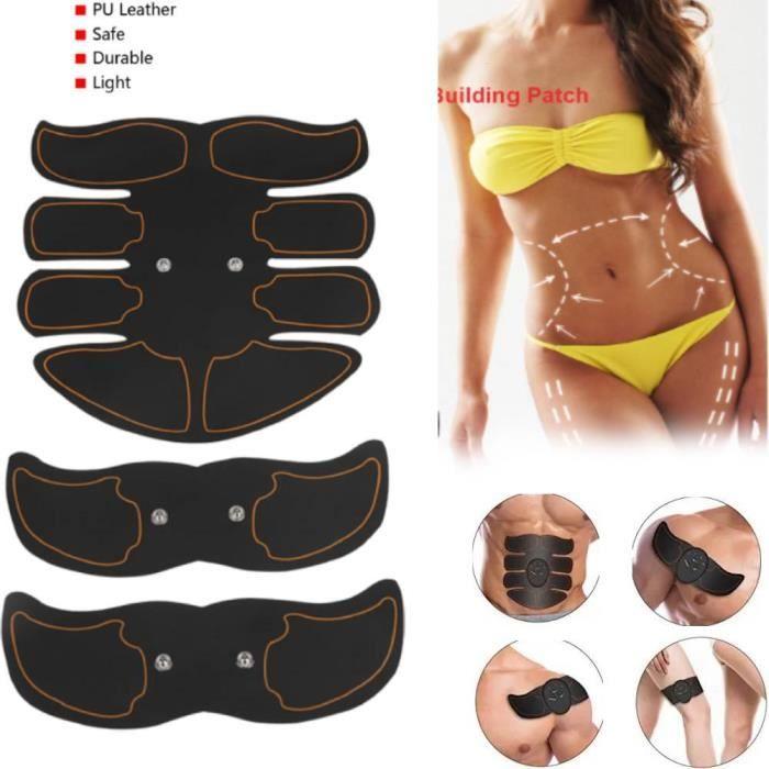 Electrostimulateur musculaire abdominal tens ems muscles abdominal biceps appareil musculation domicile brûle graisse HB014