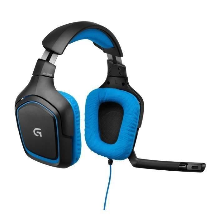 LOGITECH Micro-Casque Gamer G430 PC-PS4