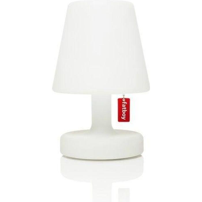 EDISON THE PETIT-Lampe à poser LED rechargeable Blanc H25cm Blanc Fatboy 16